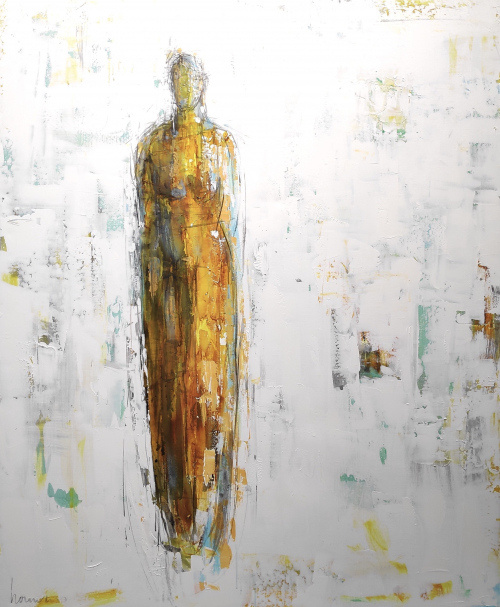 Sold | Barbara Houwers | Gestalte | 140-170 cm -cm | Acrylics on linen | Barbara Houwers-2020