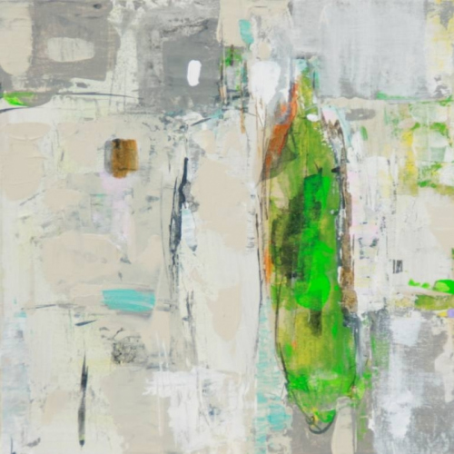 Inspired | 40-40 cm | Acrylics on canvas | Barbara Houwers