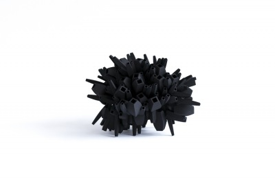 Barbara Houwers | Cocon | 23-23-15 cm | Multiple | 3D printed object .