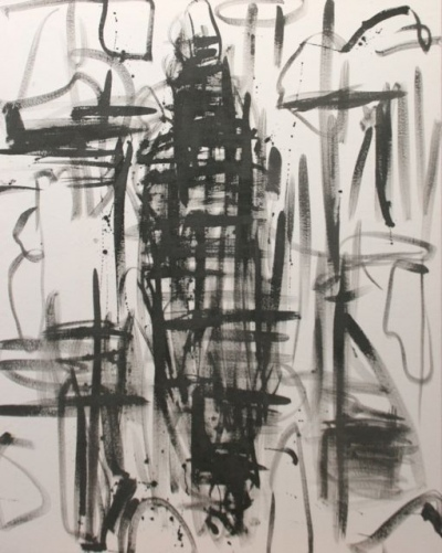 Barbara Houwers | Impulse | 80-100 cm | Acrylics on cotton | Barbara Houwers 2015