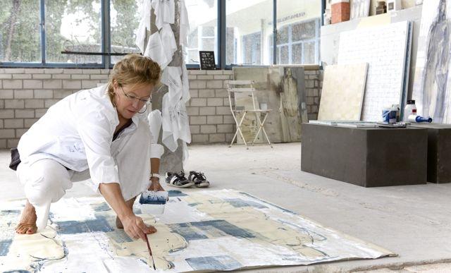 Barbara Houwers - Zonnestraal Artist in residence 2015 - Fotografie Yvonne Verburg