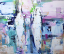 Light and Bright   120-100 cm   Acrylics on linen   Barbara Houwers-2020
