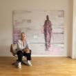 Barbara Houwers. Horizon. 220-190-cm. Acrylics on linen.