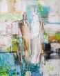 Ruimte voor de liefde | Acrylics on canvas |  50-40 cm | Barbara-Houwers 2020