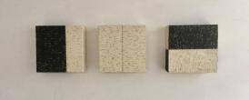 3 boxes | 20-8-8 cm | Acrylics on linen | Barbara Houwers 2017