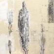 Garden 1 | 60-60 cm | Acrylics on linen | Barbara Houwers