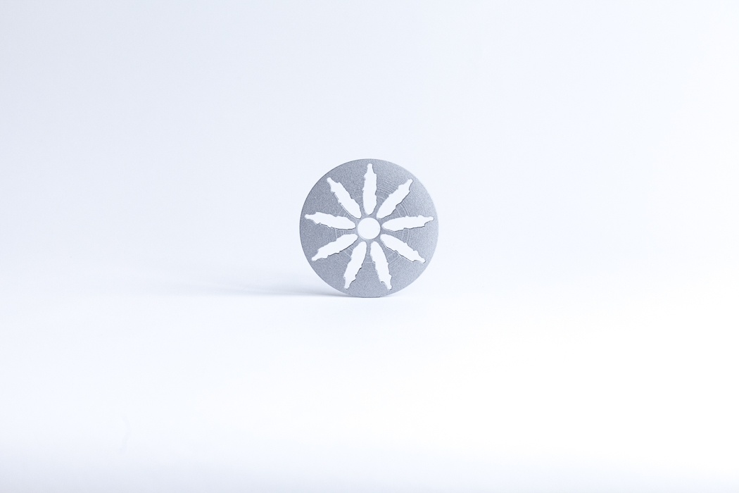 2015 | Wheel | 10 cm | 3D Print-artwork | Alumide | Small objects series