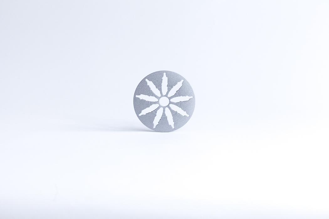 2015 | Wheel | 10 cm | 3D Print-artwork | Alumide | Small objects series