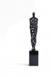 CARE   3D-Printed object   Multiple   25 cm black   10 cm polished stone   Barbara Houwers 2016