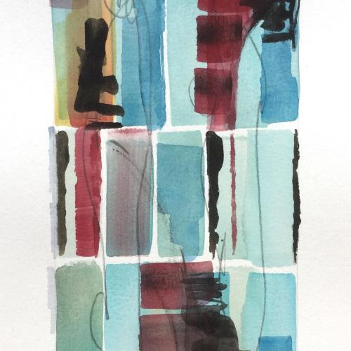 WOP 11 | aquarel | 12-6 cm | Barbara Houwers 2021